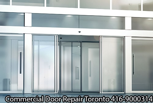 repair commercial aluminum glass toronto doors a door